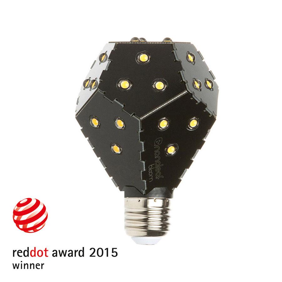 Nanoleaf Bloom LED Λάμπα 10W E27 Dimmable Black