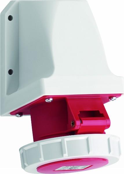 ABL-Sursum Πρίζα Θηλυκή Εξωτερική Επίτοιχη Βιομηχανικού Τύπου IP67 5x125A