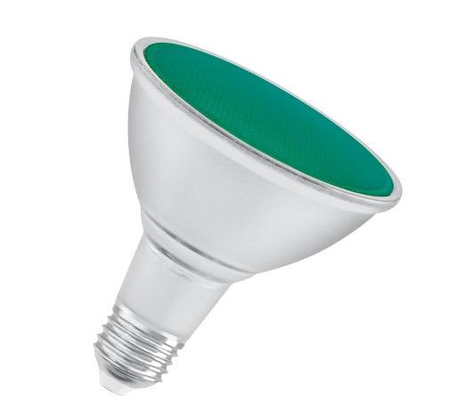 Osram LED Parathom E27 PAR38 13W Green
