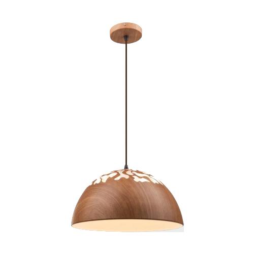 SL LED Κρεμαστό Φωτιστικό 18W Μεταλλικό E27 Wood