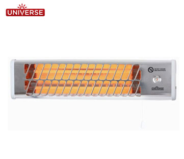Universe Θερμάστρα Eπίτοιχη 1500W Quartz