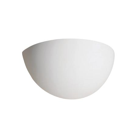 VK Φωτιστικό Τοίχου 40W Γύψινο E14 Λευκό